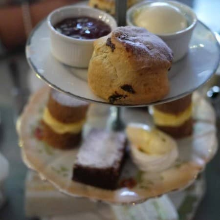 Afternoon Tea at The Bluebell, Henley in Arden