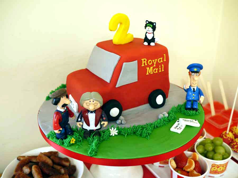 Postman Pat Cake Decorations