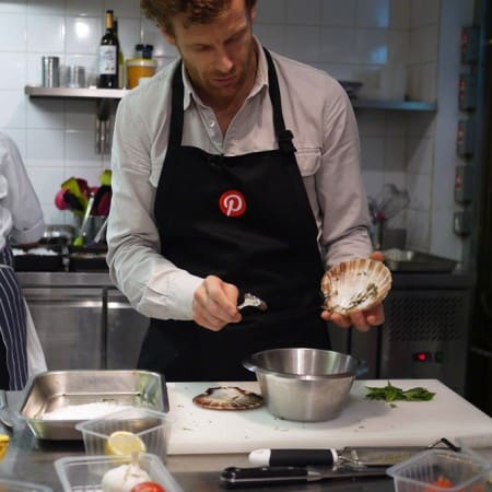 Pinterest UK Masterclass with Tom Aikens