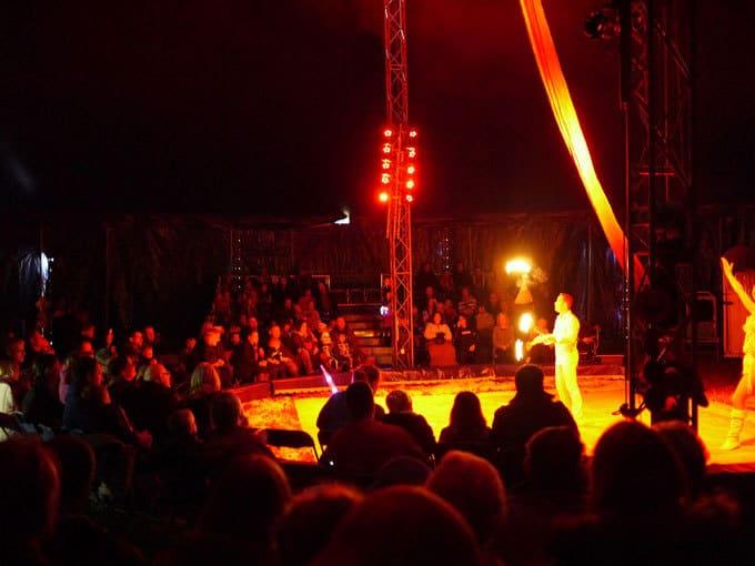 Fire Eating John Lawson Spooky Human Circus