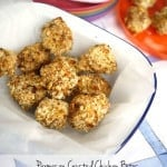 Parmesan Crusted Chicken Bites in the Tefal ActiFry