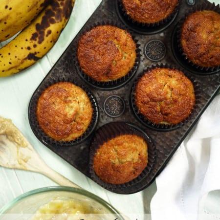 Kids Cooking – Banana Muffins