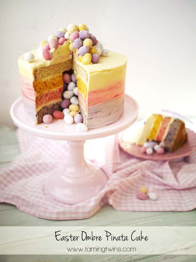 cake easter layer ruffle cake 3 layer easter egg cake with cadbury ...