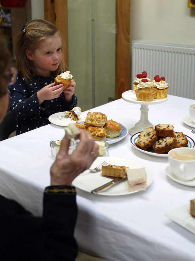 Contact the Elderly Tea Party