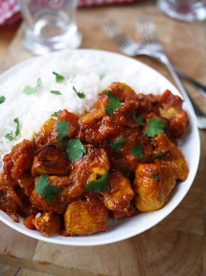 Skinny Chicken Tikka Masala with Tefal FryDays