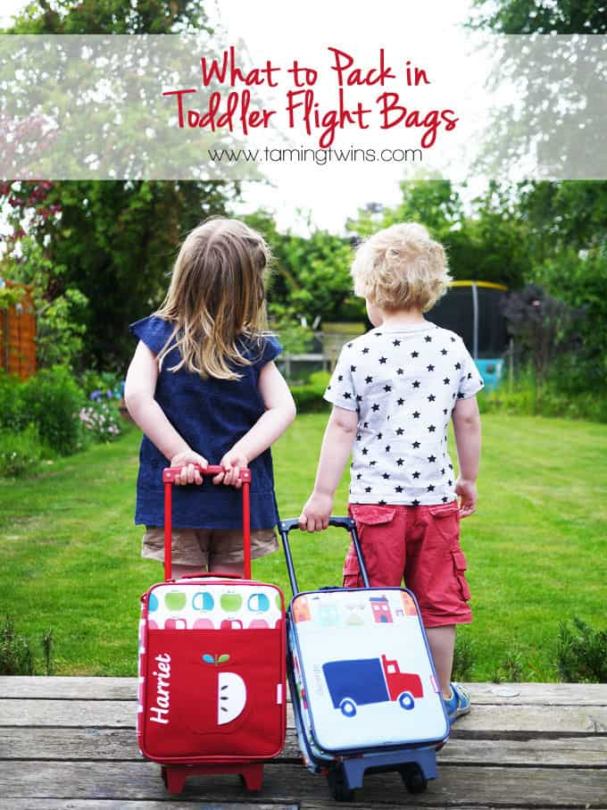 What to Pack in Toddler Carry On Flight Bags