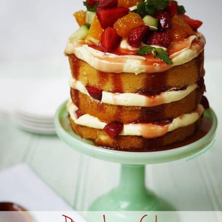 Pimms Layer Cake
