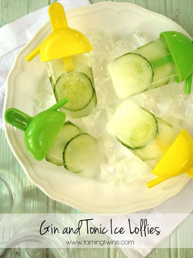 Gin and Tonic Ice Lollies Recipe
