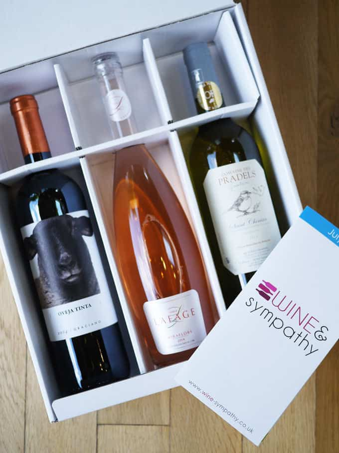 Wine and Sympathy Box