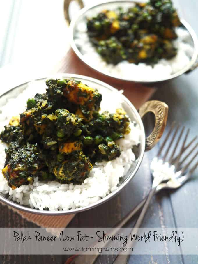 Slimming World Palak Paneer Recipe Low Syn Low Fat