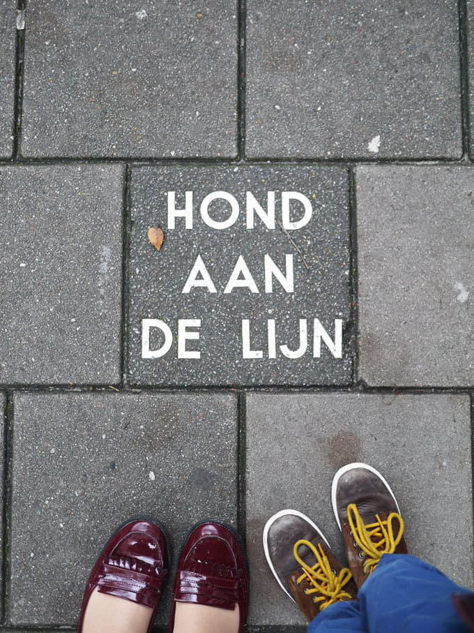 """""""HOND AAN DE LIJN"""" 48 Hours in Amsterdam with Kids - Insider tips and advice for a weekend in Amsterdam with young children. Where we stayed, we ate, what we saw!"""