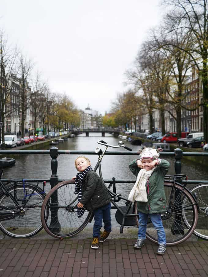 Canals with kids... Het Scheepvaartmuseum - 48 Hours in Amsterdam with Kids - Insider tips and advice for a weekend in Amsterdam with young children. Where we stayed, we ate, what we saw!
