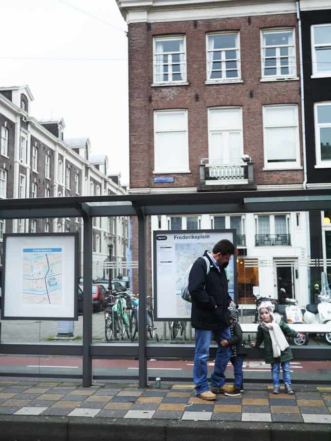 Trams with Kids... 48 Hours in Amsterdam with Kids - Insider tips and advice for a weekend in Amsterdam with young children. Where we stayed, we ate, what we saw!