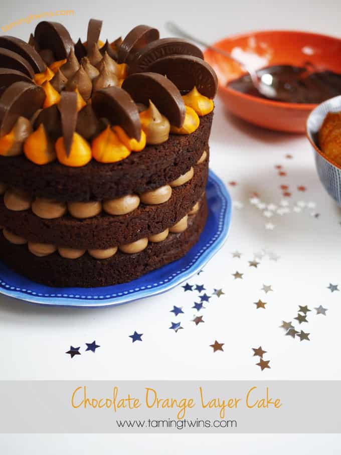 Chocolate Orange Layer Cake - The perfect alternative to a festive ...