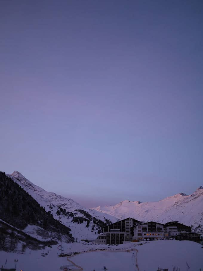 Our magical week of skiing in Obergurgl, Austria. The perfect family ski destination in Europe. http://www.tamingtwins.com