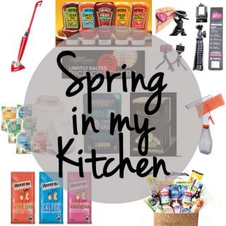Spring in my Kitchen - New products that have been appearing in the Taming Twins kitchen this season. http://www.tamingtwins.com