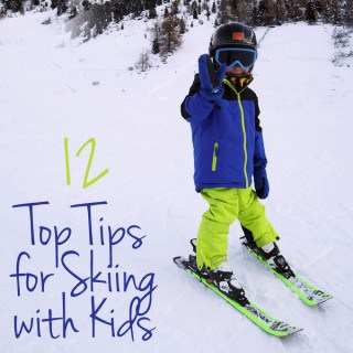 12 Tips for Skiing with Kids