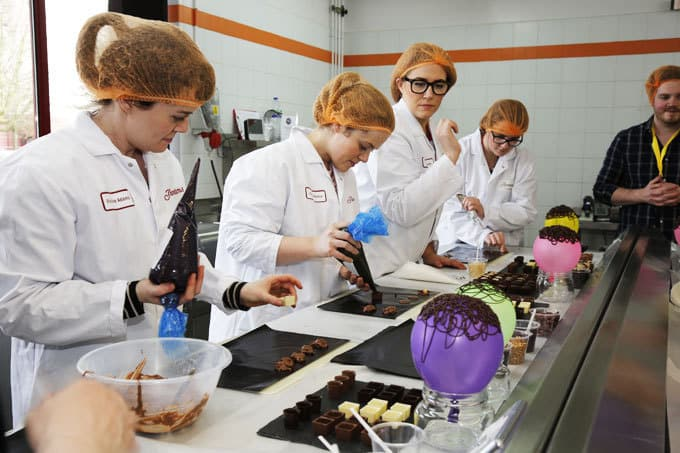 Thorntons Factory Tour - Adventures in a chocolate factory! My day visiting Thorntons in Derbyshire and learning about their chocolates. How they are dreamed up, created and produced on a huge scale.   http://www.tamingtwins.com