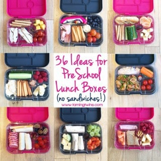 36 Preschool Lunchbox Ideas (without Sandwiches!)