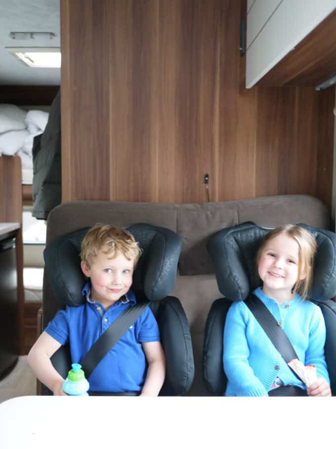 Motorhomes - Camping for people who hate camping? The story of our first family trip in a motorhome, the perfect holiday to help slow down, for adults and kids alike. | TamingTwins.com