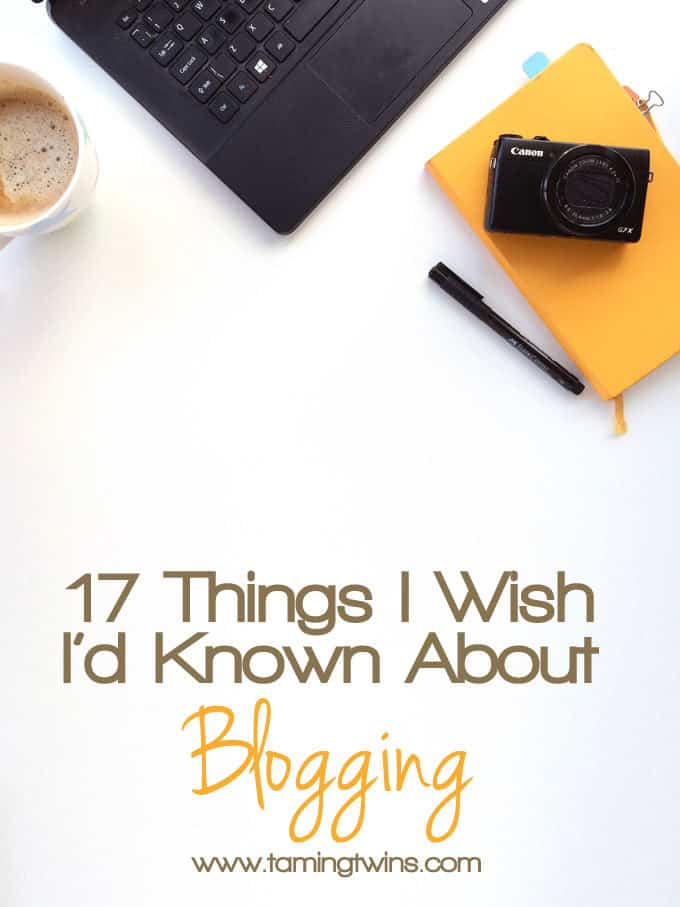 Going to start blogging? You need these tips. All the things I wish I'd known 3 years ago.. From blog photography, to networking, promotion and staying sane.. http://www.tamingtwins.com