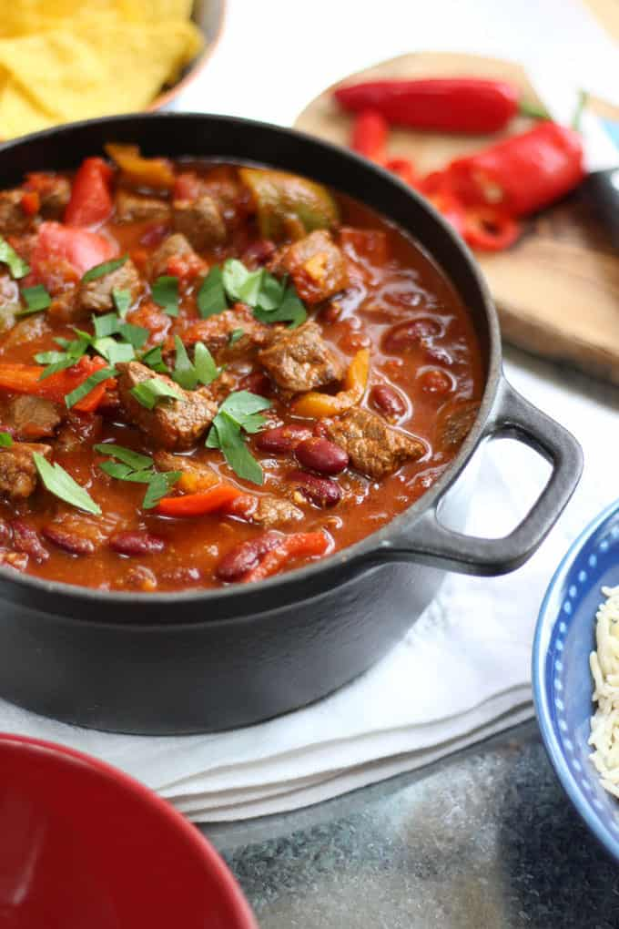 This easy Chilli Con Carne recipe (or Chili Con Carne, if you're in ...