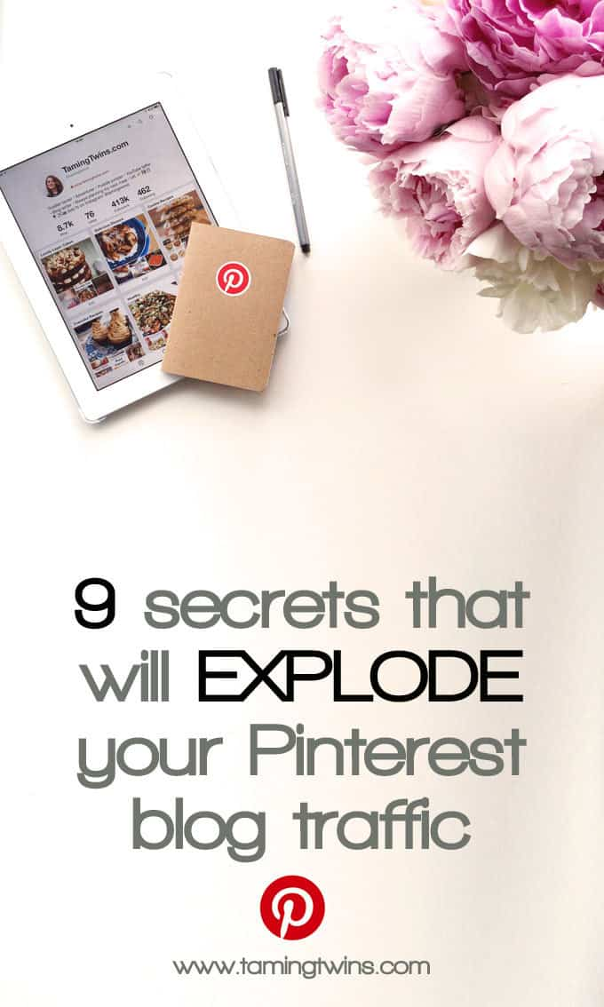 These are the things that have helped me grow my Pinterest following to over 400,000, with great levels of engagement. From widgets to keywords, how often you should pin and analytics, these are the Pinterest blogging tips you need to really get serious on the platform! http://www.tamingtwins.com