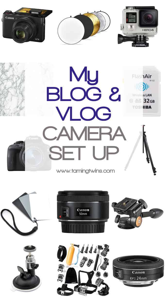 My blogging and vlogging camera set up, all of my essential and favourite camera kit for photos and video making, including how to get the perfect white balance, helping with pesky shadows, my marble photo backdrop and a tri-pod for overhead video shots. Phew, a lot of info! http://www.tamingtwins.com