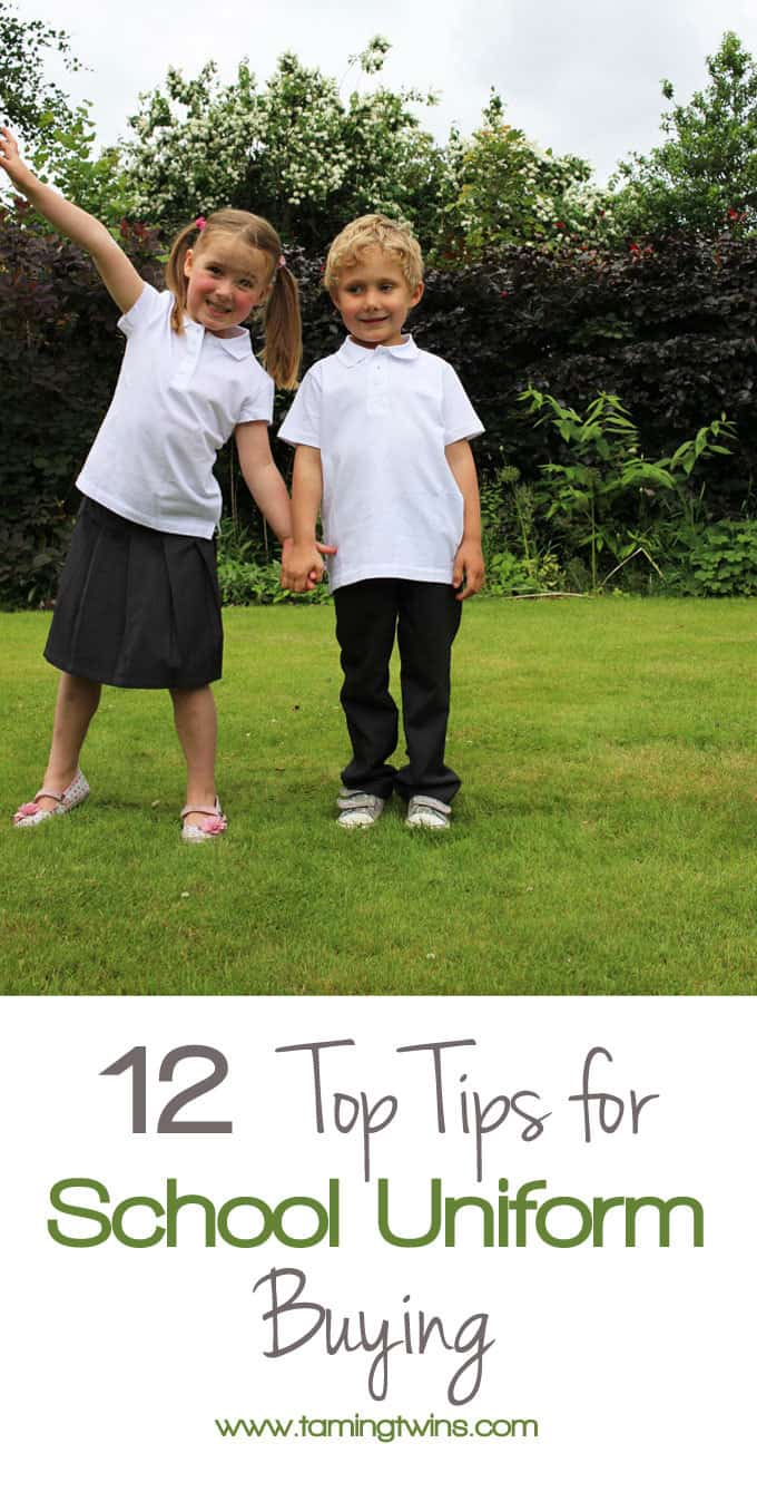 12 Top tips for school uniform buying. How much to buy, how to keep it from getting lost and everything in between.