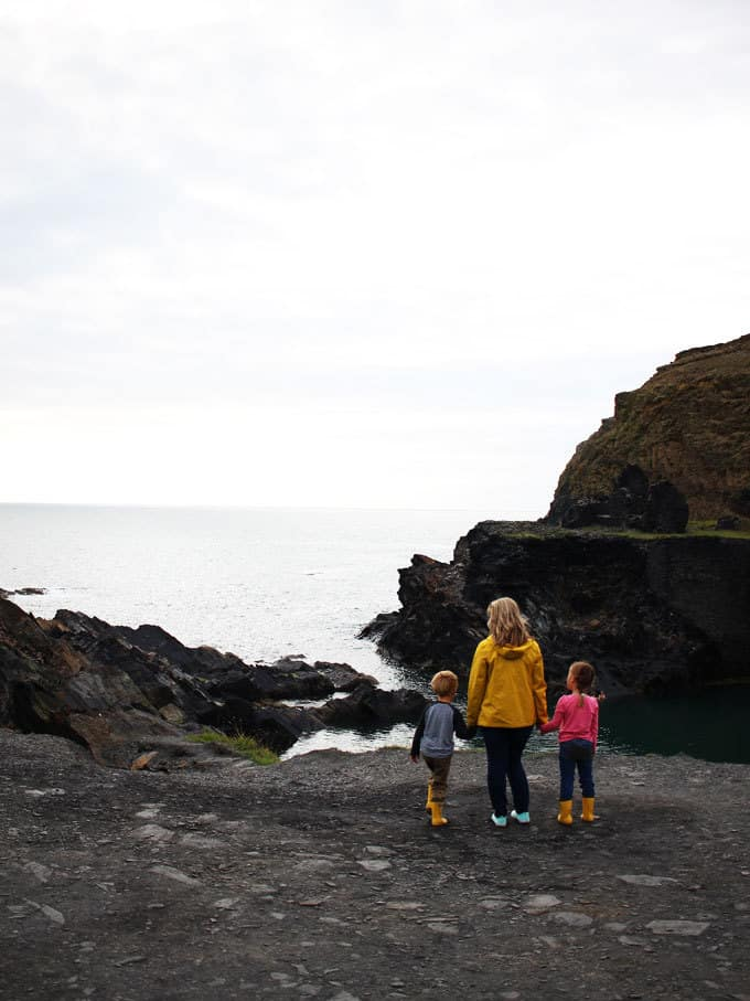 Blue Lagoon - Discovering Pembrokeshire, Wales - 48 Hours in Pembrokeshire with kids in this stunning part of the UK. Beautiful coastlines, beaches, lighthouse and views, with amazing food and blue skies. What more could you want for a holiday?