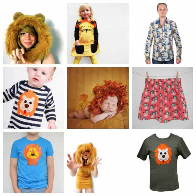 Just So Festival Lion Costume Inspiration!