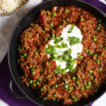 A delicious, quick and easy, family friendly Lamb Keema recipe. Perfect for a midweek dinner, on the table quickly. One of the tastiest and easiest curry recipes you will ever make.