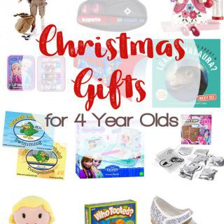 Christmas Gifts for 4 Year Olds