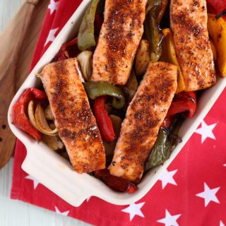 Oven Baked Cajun Salmon Recipe with Norwegian Salmon