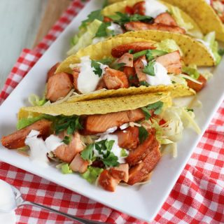 Easy No Cook Salmon Tacos with Norwegian Salmon