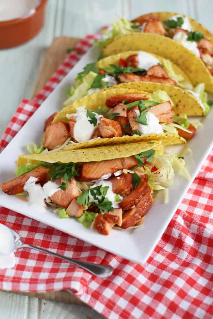 Easy no cook salmon tacos with norwegian salmon taming twins easy no cook salmon tacos a perfect quick mid week assembly only ccuart Image collections