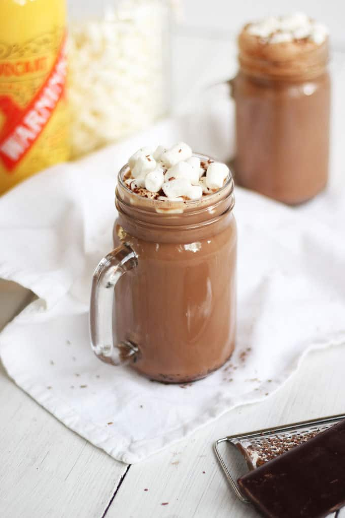 My Cafe Winter Evening Hot Chocolate Recipe