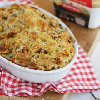 Easy Family Friendly Tuna Pasta Bake with Bertolli with Butter