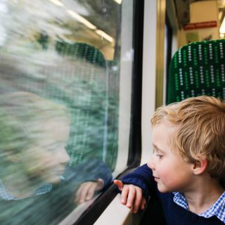 Birmingham with Kids by Train