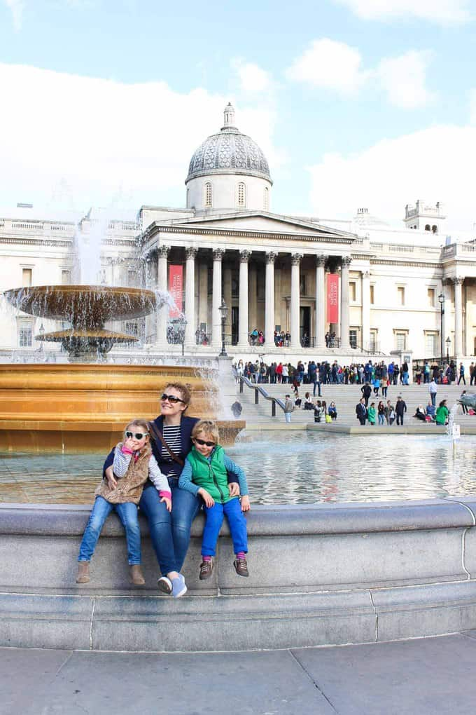 London in the Spring - a weekend in the capital with kids. Here's what we got up to during a 48 hour trip. Kidzania, The Royal Garden Hotel, The Science Museum, The Natural History Museum and more..