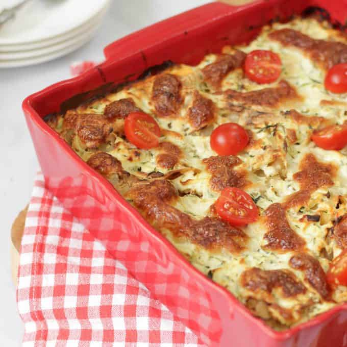 A review of the fantastic new Weight Watchers Smart Kitchen Meal Boxes - including recipe for Creamy Mushroom and Courgette Lasagne.