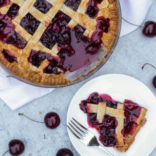 Cinnamon Cherry Pie Recipe with Waitrose