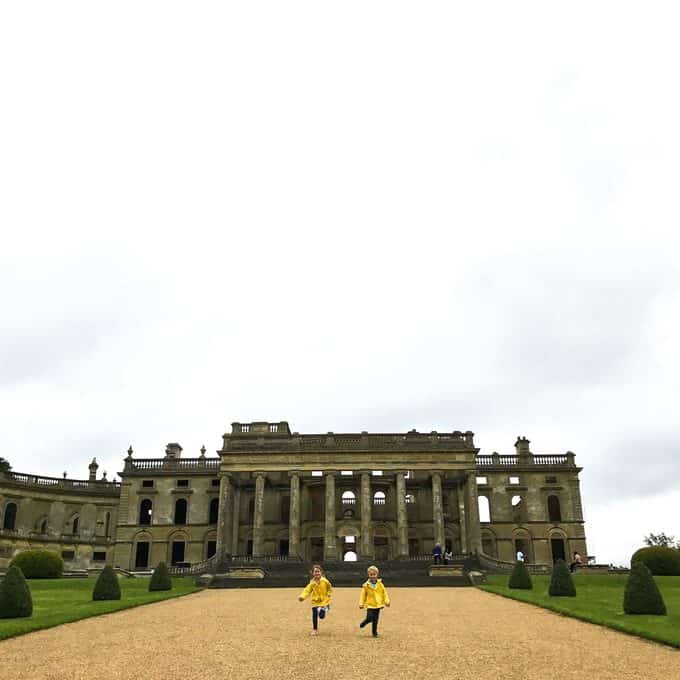 A day of family fun at the English Heritage site, Witley Court in Worcestershire