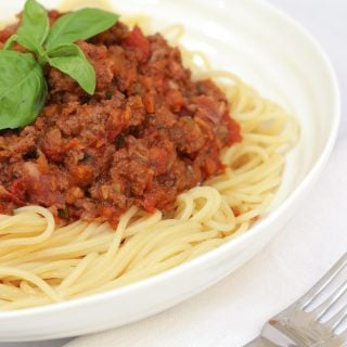Hidden Vegetable Bolognese Recipe