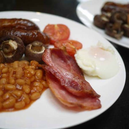 The Easiest Ever Full English Breakfast