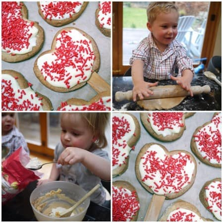 Kids Cooking – Valentine's Cookie Pops