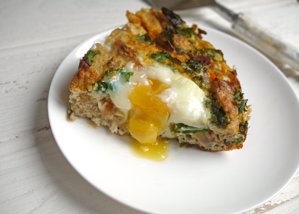 Chorizo and Kale Strata Recipe