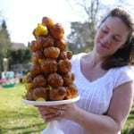 How to make a croquembouche choux pastry and caramel tower