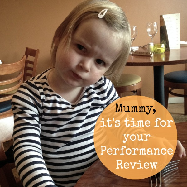 Mummy's Performance Review