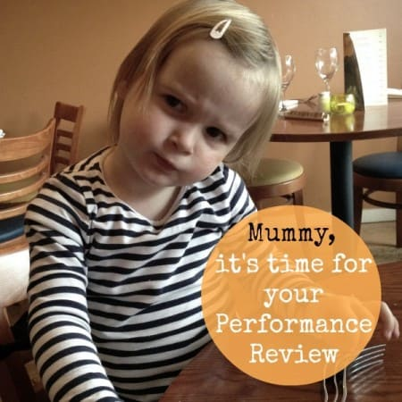 Mummy's 2 Year Performance Review